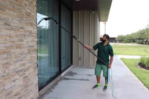 Window cleaning service in Katy