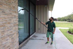 Window cleaning service in Katy
